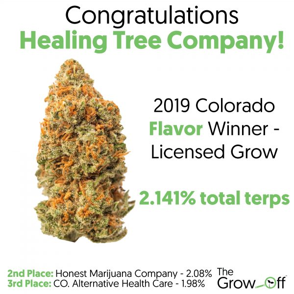 Colorado flavor winner for licensed grow